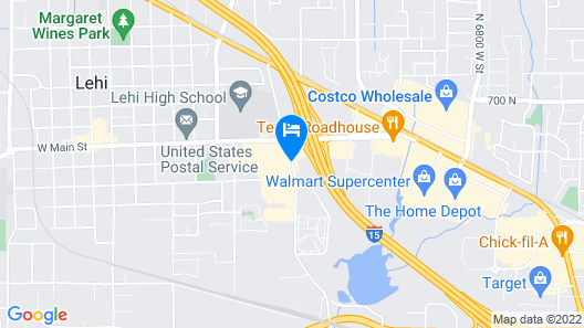 Best Western Timpanogos Inn Map