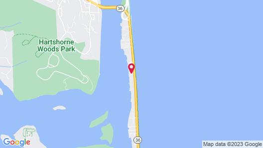 Beachwalk at Sea Bright Map