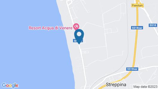 Paestum Inn Beach Resort Map