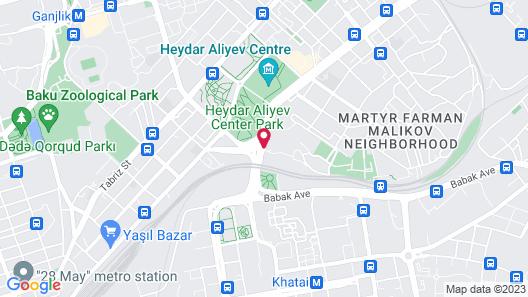 Excelsior Hotel & Spa Baku Map