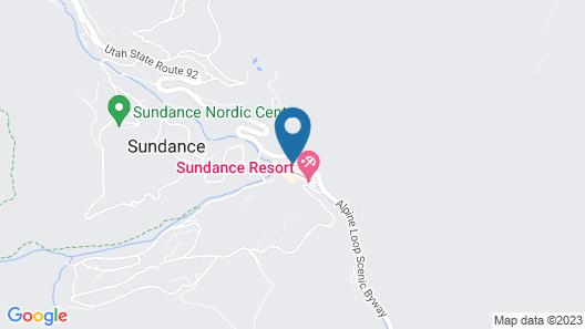 Sundance Mountain Resort Map