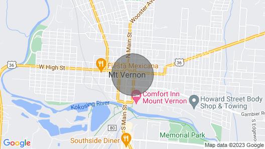 Downtown Mount Vernon Apt - 20 Mi to Vineyard Map