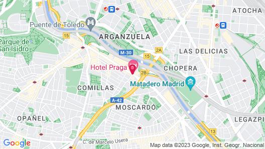 Hotel Praga Map