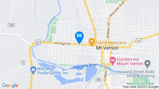 The Mount Vernon Inn Map