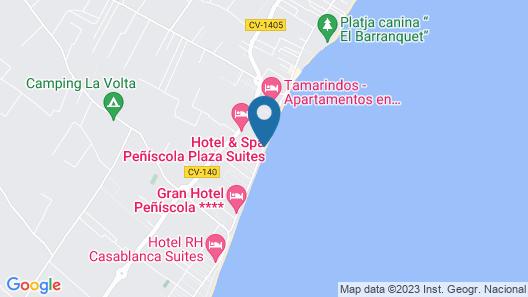 Hotel & Spa Peñíscola Plaza Suites Map