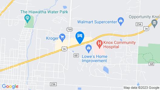 Super 8 by Wyndham Mt. Vernon Map