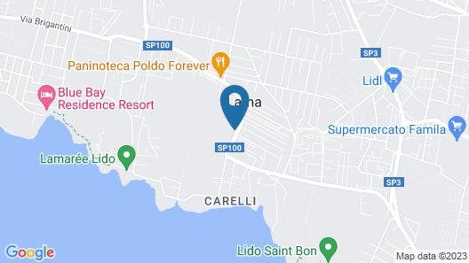B&B Villa Marta Map