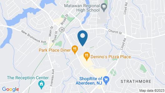 New Jersey Rental One-bedroom Condo Map
