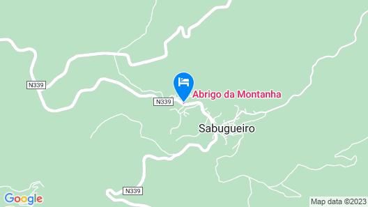 Abrigo da Montanha Alojamento Familiar Map