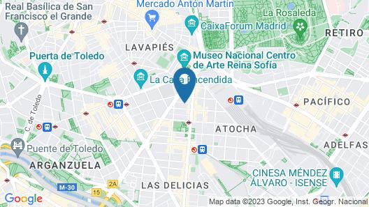 Eric Vökel Boutique Apartments - Atocha Suites Map