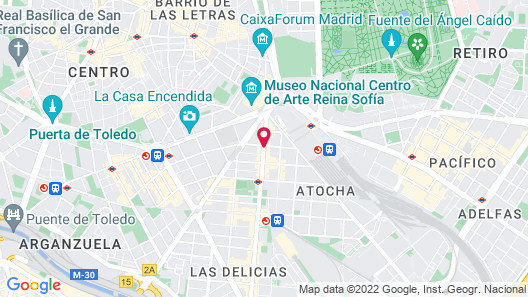 AC Hotel Carlton Madrid by Marriott Map