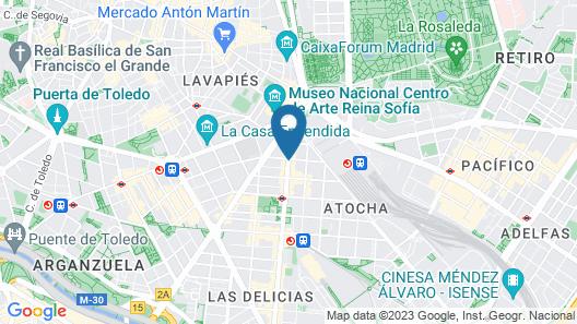 AC Hotel Carlton Madrid by Marriott Map