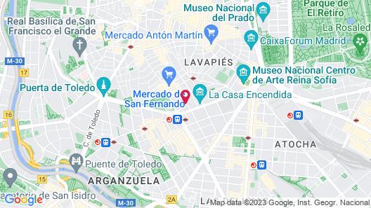 Smartrental La Latina Map
