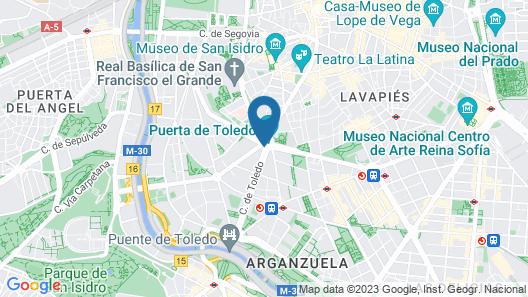 Hotel Puerta de Toledo Map