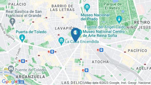 Hard Rock Hotel Madrid Map