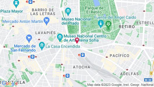 NH Madrid Atocha Map