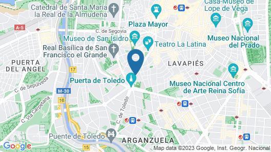 Hotel Ganivet Map