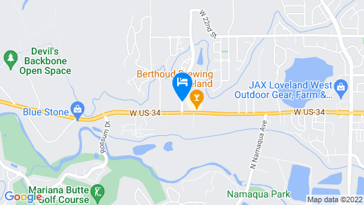 La Quinta Inn & Suites by Wyndham Loveland Map