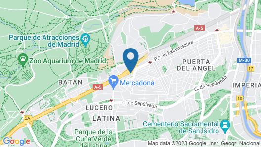 HomeStay Extremadura Map