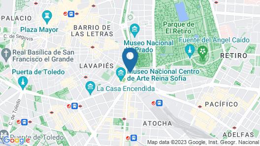 SLEEP'N Atocha – B Corp Certified Map