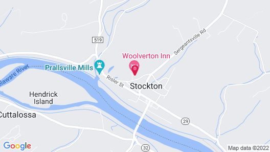 Woolverton Inn Map