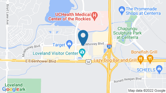Residence Inn by Marriott Loveland Map