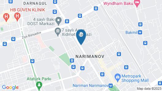 Gm City Hotel Map