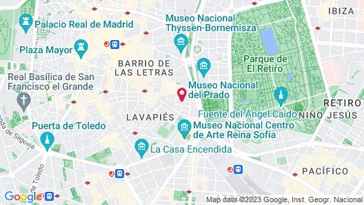 Apartamentos Good Stay Prado Map