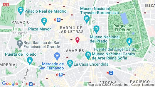 TRYP Madrid Atocha Hotel Map