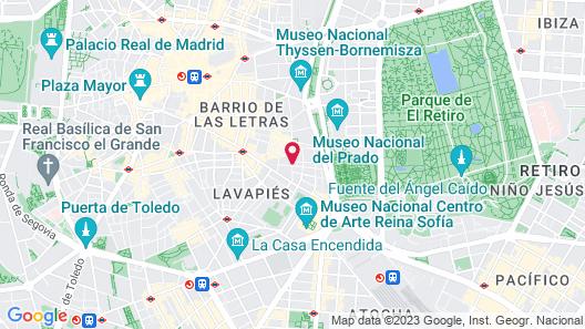 Hostal Parajas Map
