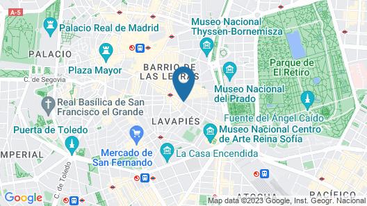Hotel Catalonia Atocha Map