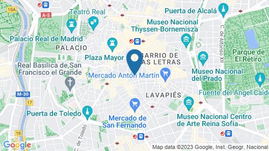 Hostal Montaloya Map