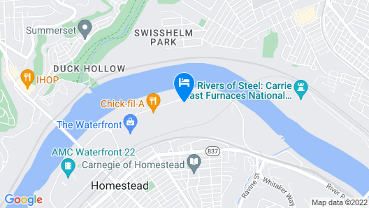 Holiday Inn Express Pittsburgh East - Mall Area, an IHG Hotel Map
