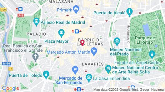 NH Collection Palacio de Tepa Map