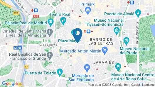 Plaza Mayor Suites & Apartments Map