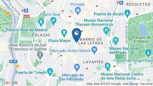 Mola Hostel Map