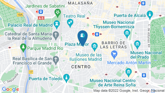 The Hat Madrid Map