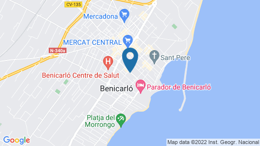 Apartamentos Playa de Benicarló 3000 Map