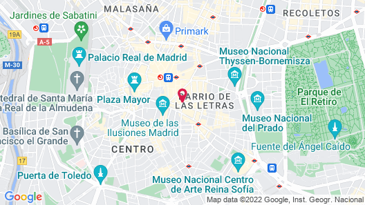 ME Madrid by Melia Map