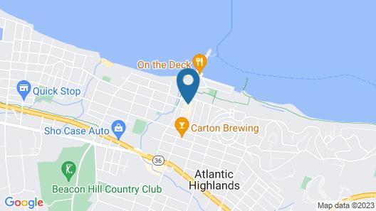 Blue Bay Inn Map