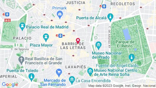 One Shot Prado 23 Map