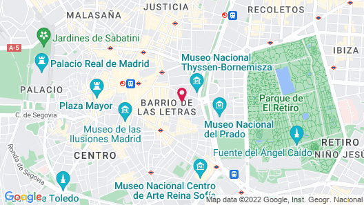 DoubleTree by Hilton Madrid-Prado Map