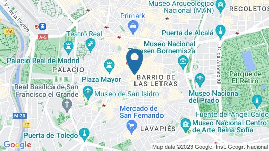 LH Puerta del Sol Map