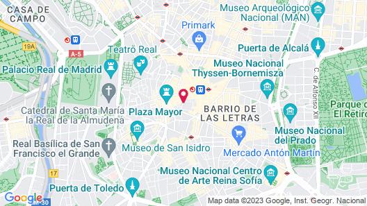 Hostal Comercial Map