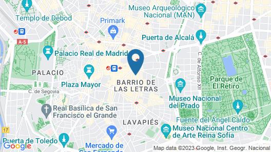Gran Hotel Inglés Map