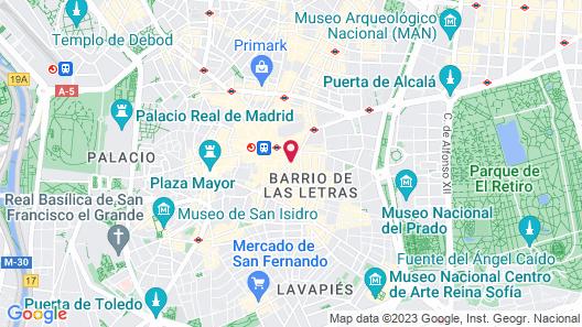 JC Rooms Santa Ana Map