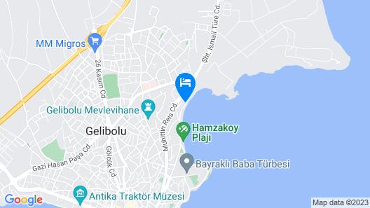 Tas Konak Boutique Hotel Map