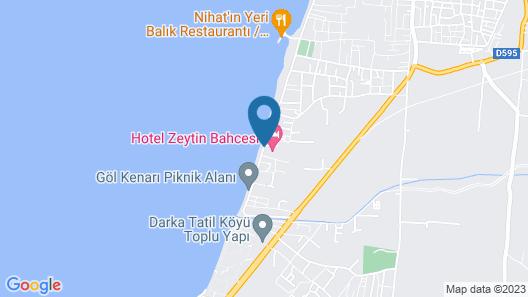 Hotel Zeytin Bahcesi Map