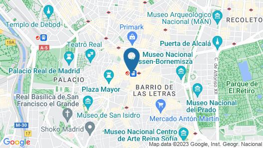 Charming Puerta del Sol Map