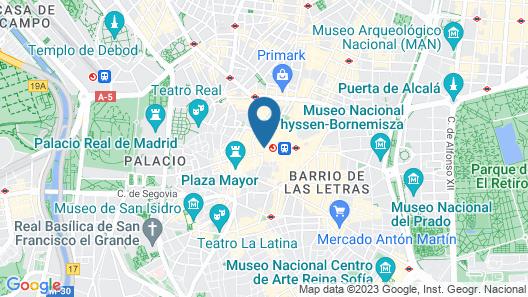 Hotel Moderno Map